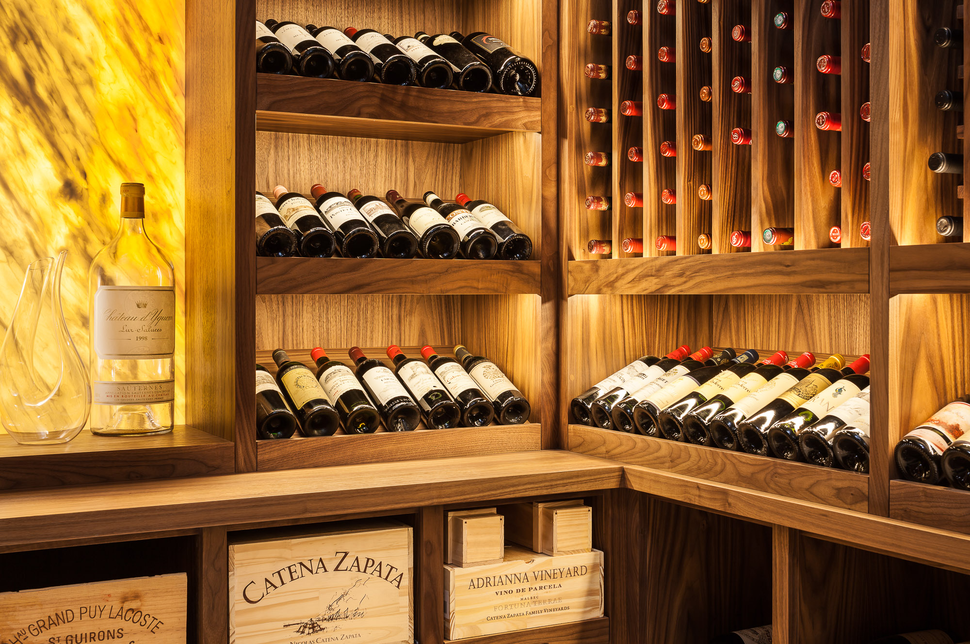Mulberry House wine cellar by Wine By Design