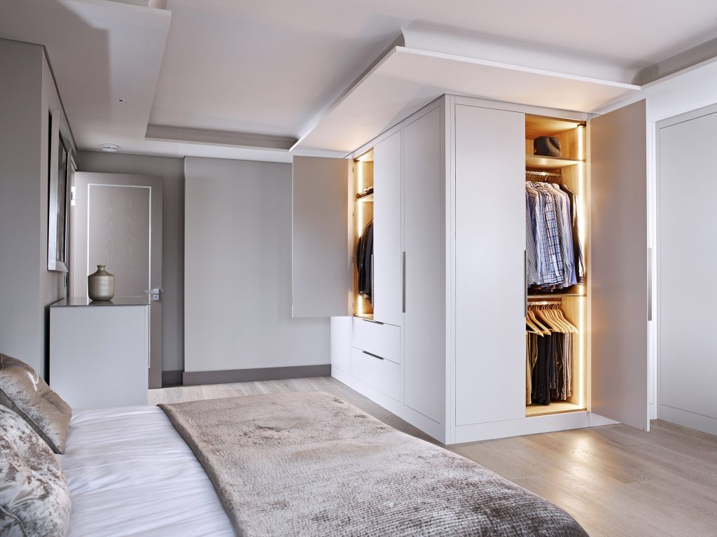 Made to Measure Wardroes with LED Lights