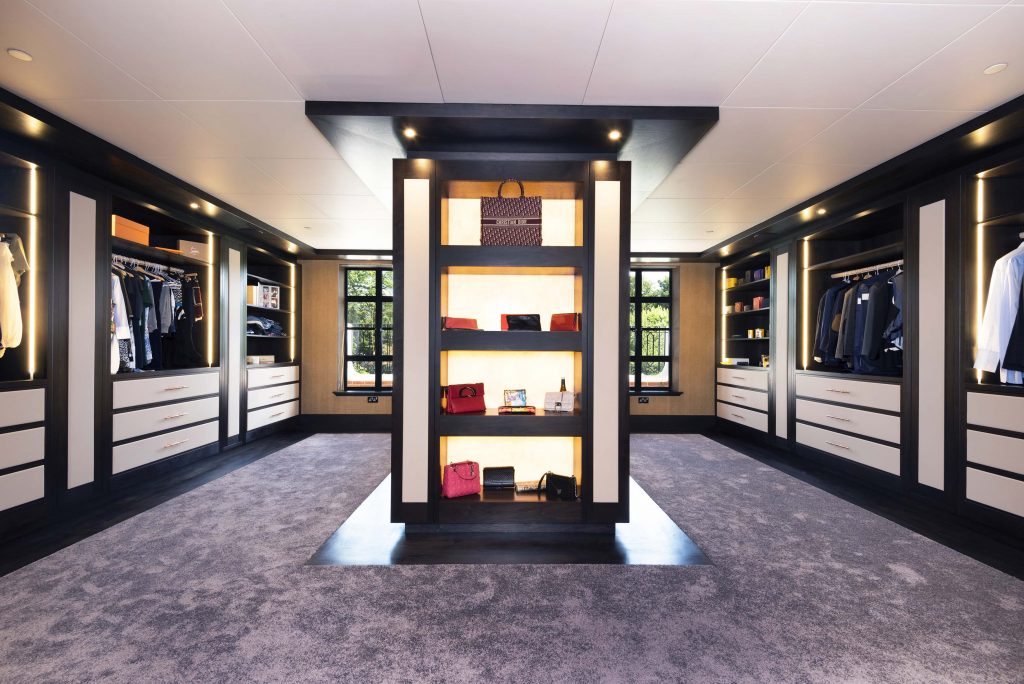 Luxury Bedroom Furniture and contemporary dressing room